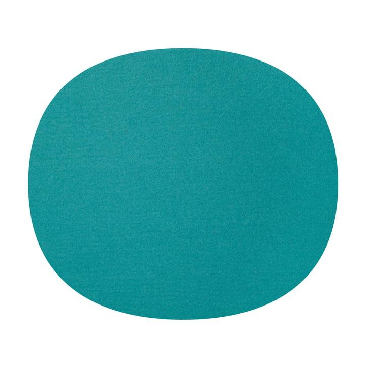 Hey Sign - Felt Cushion Eames Plastic Chair, turquoise 5mm