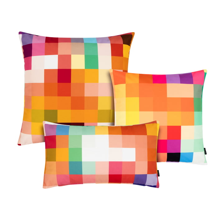 A unique pixel design cushion in different sizes