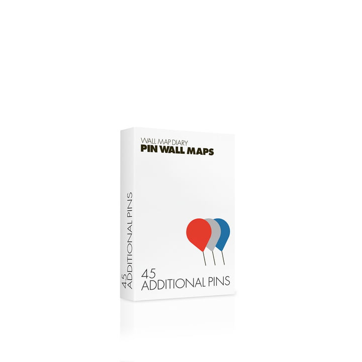 Palomar - Additional pins for Pin World, 3 colours (45 pcs.)