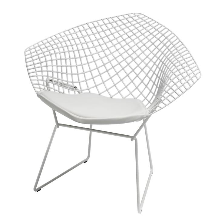 Knoll - Bertoia Diamond Armchair, white