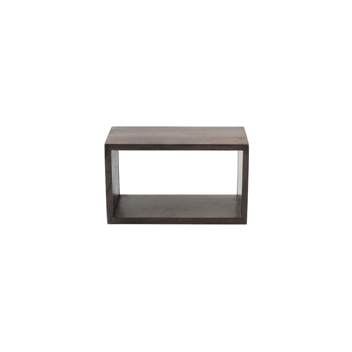 Box System XS by Mater in stained sirka grey