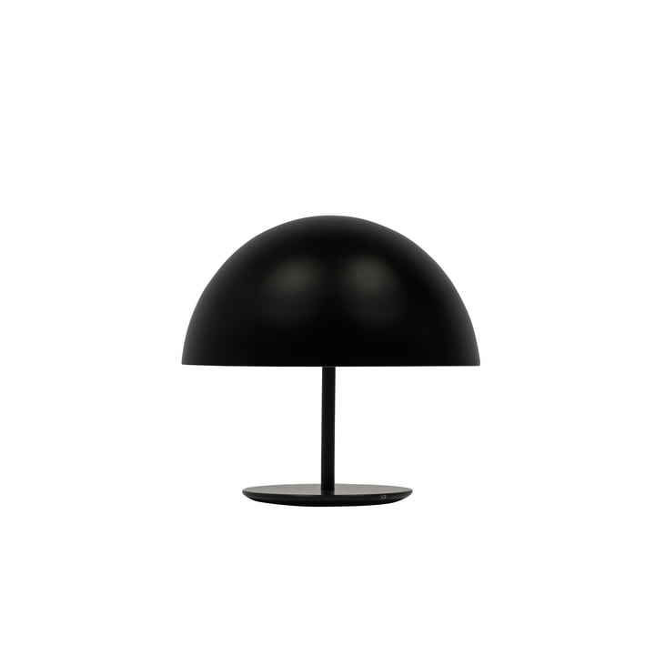 Dome Table Lamp by Mater Ø 25 cm in black