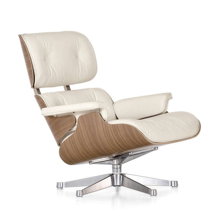 Vitra - Lounge Chair in white