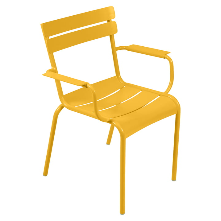 Luxembourg Armchair by Fermob in honey