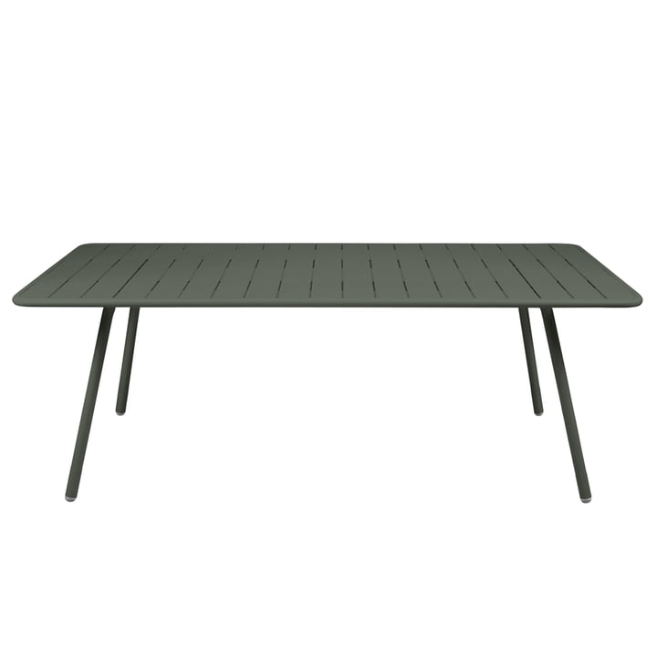 Fermob - Luxembourg Table, rectangular, 100 x 207cm, rosemary
