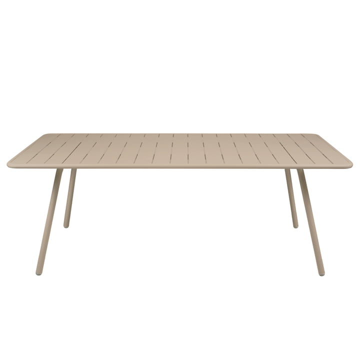 Luxembourg Table 100 x 207 cm by Fermob in Muscat