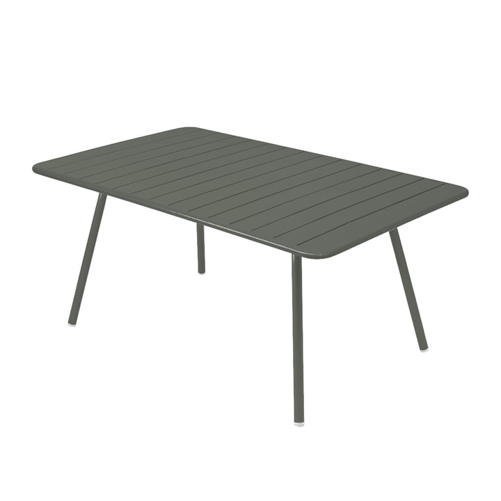 Luxembourg Table 165 x 100 cm by Fermob in rosemary