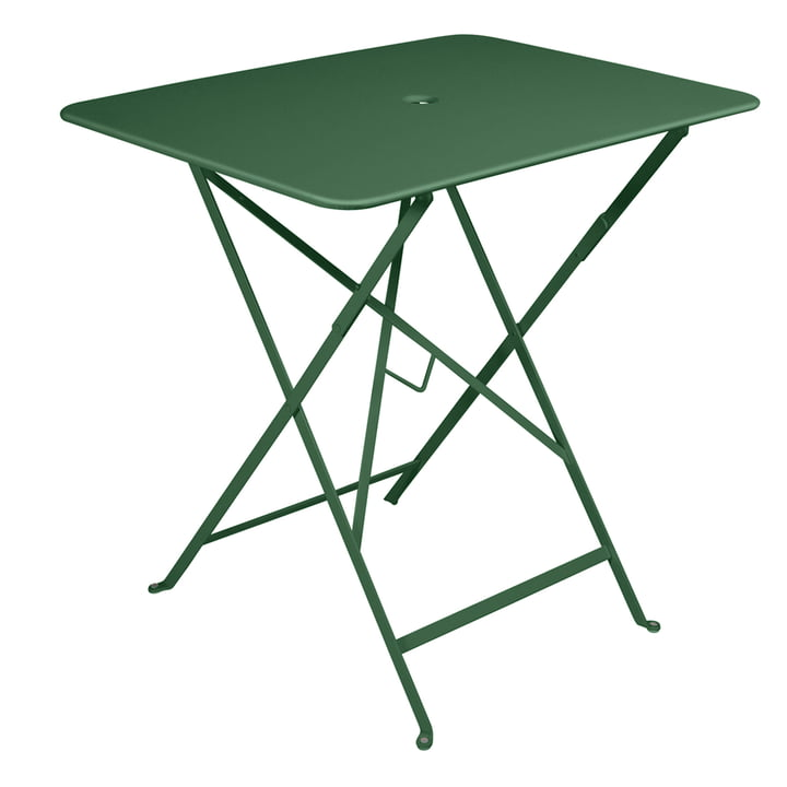 Fermob - Bistro folding table, rectangular, 77 x 57 cm, cedar green
