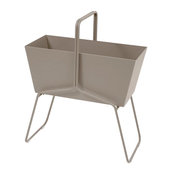 Fermob - Basket Flower Box High, nutmeg