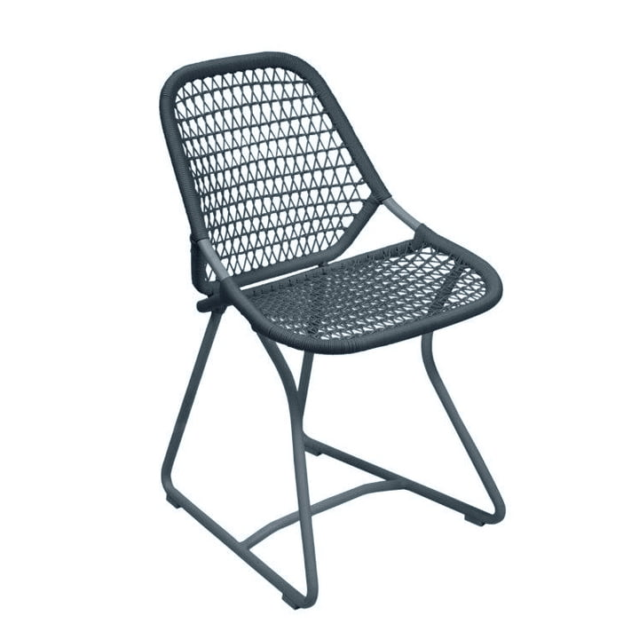 Sixties Chair from Fermob in thunderstorm grey/slate