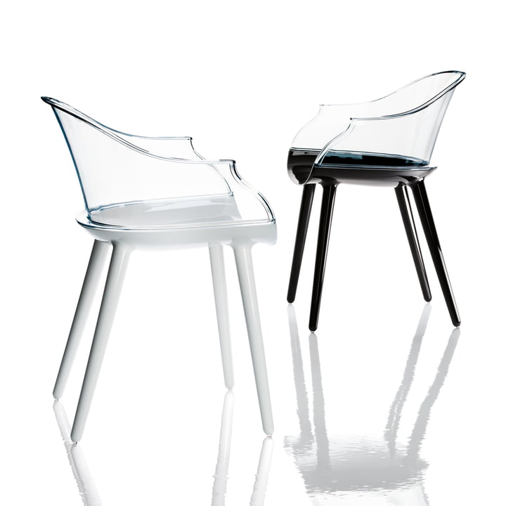 Cyborg chair made of two components