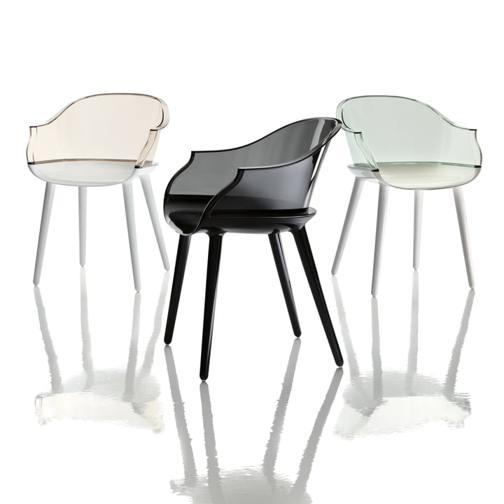 Cyborg Chair made of plastic