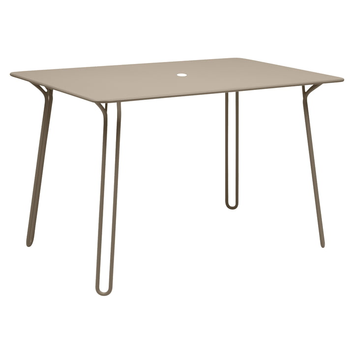 Surprising Table by Fermob in Nutmeg