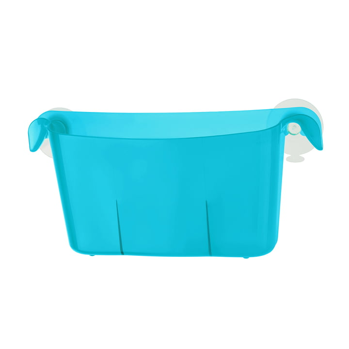 Koziol - Miniboks Utensilo, transparent caribbean blue