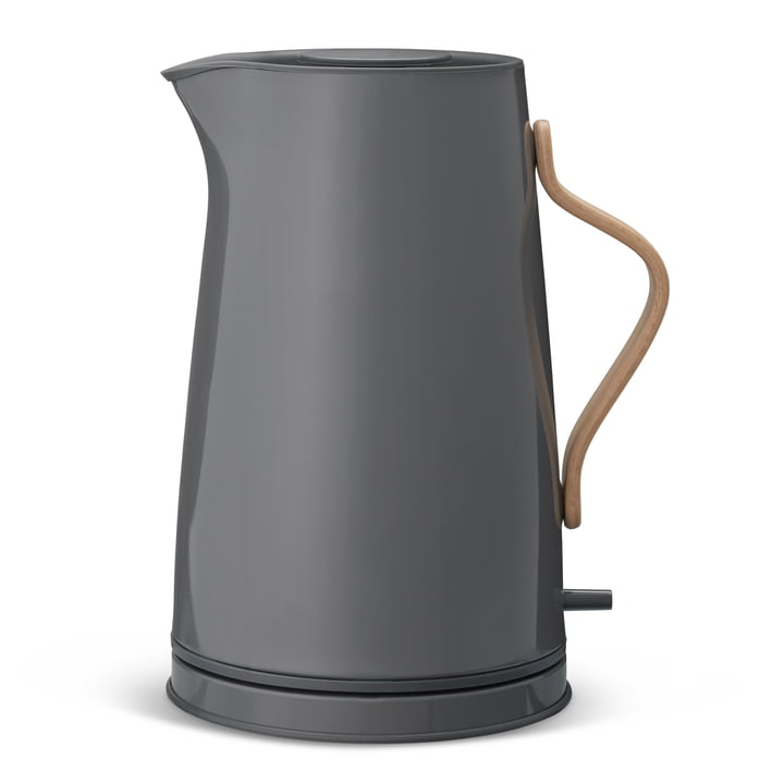 Emma kettle for 1.2 litres in grey by Stelton