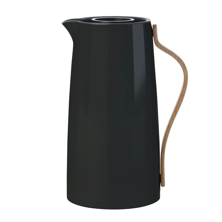Stelton - Emma vacuum jug coffee, 1. 2 l, black