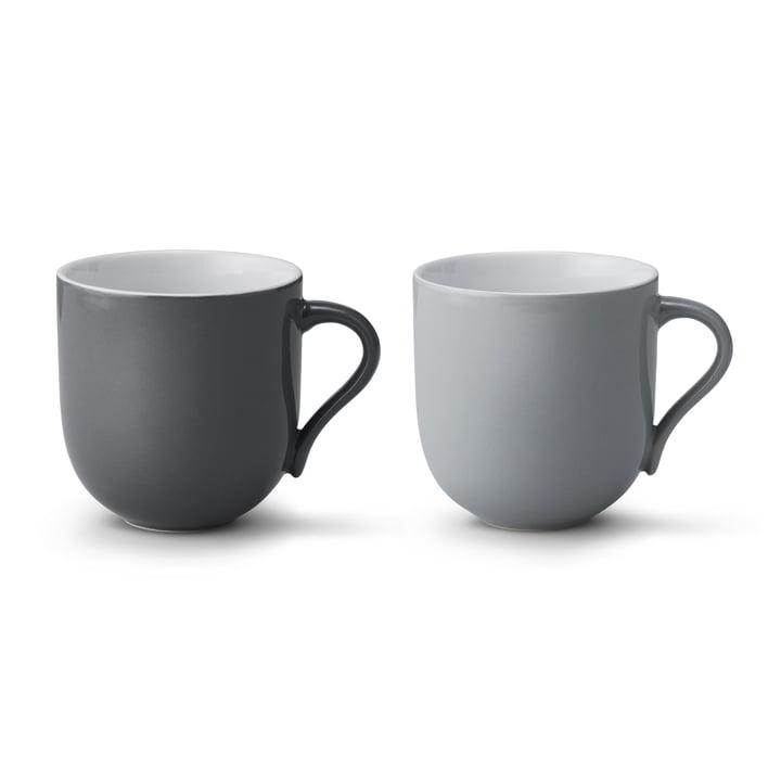 Stelton - Emma Mug large (set of 2), grey