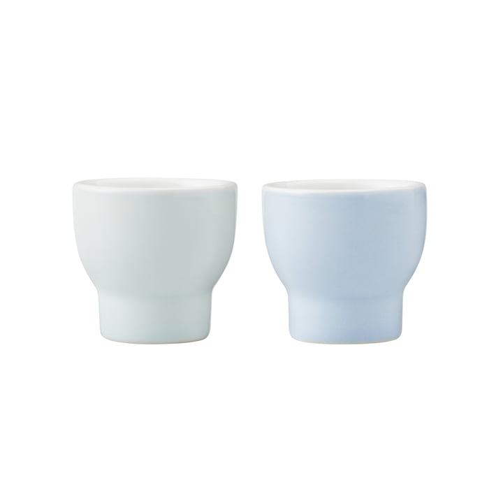 Emma Eggcups (set of 2) by Stelton in blue