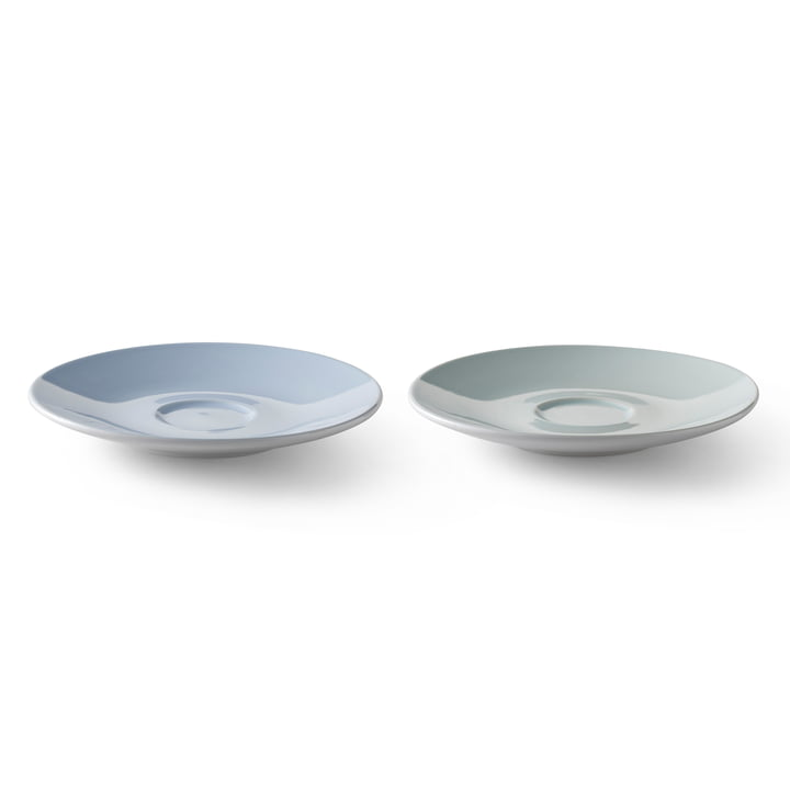 Stelton - Emma Saucer (set of 2), blue