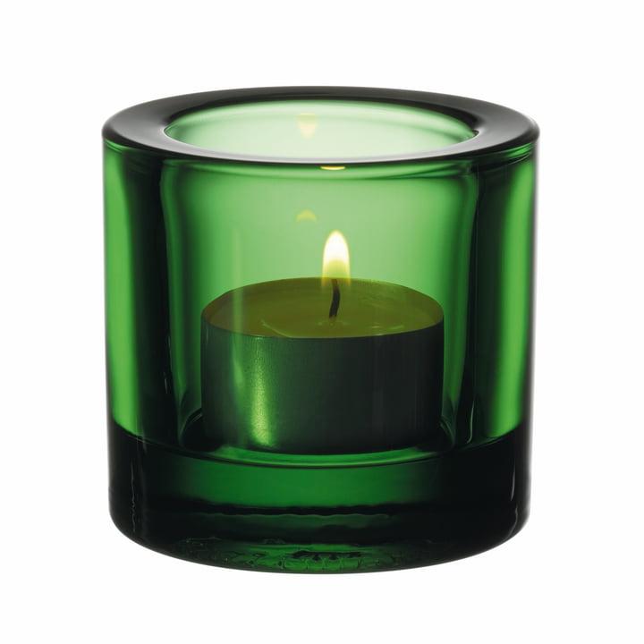 Iittala - Kivi  Votive Candle Holder, emereld