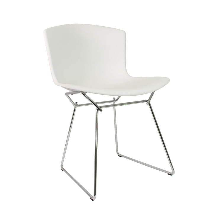 Knoll - Bertoia Plastic Chair in white