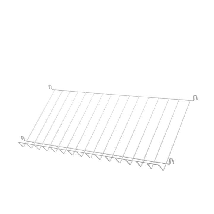 String - Magazine shelf, white