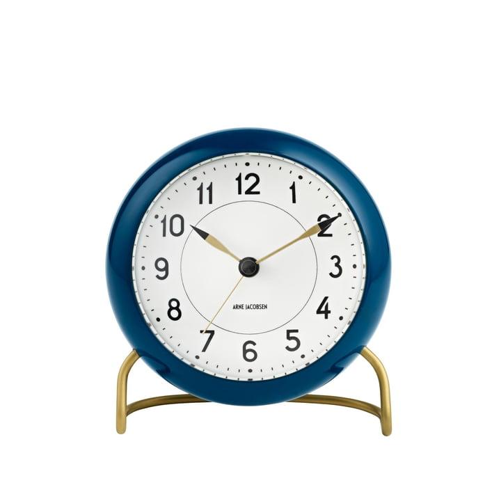 Rosendahl - AJ Station Alarm Clock, petrol / white