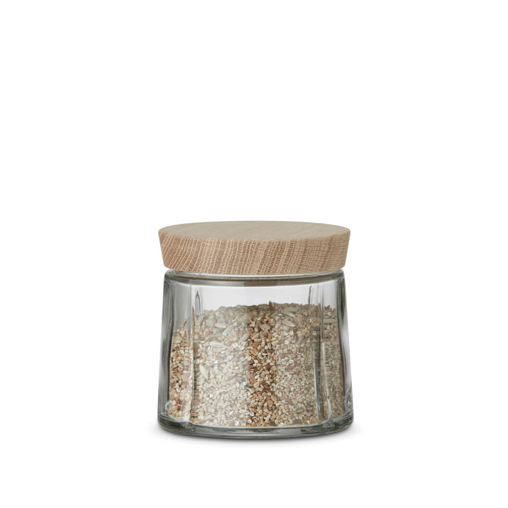Grand Cru Storage Jar with Oak Lid, 0.5 L by Rosendahl