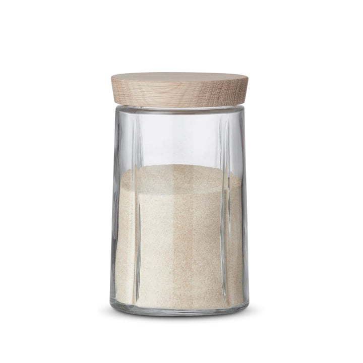 Grand Cru Storage Jar with Oak Lid, 1.0 L by Rosendahl