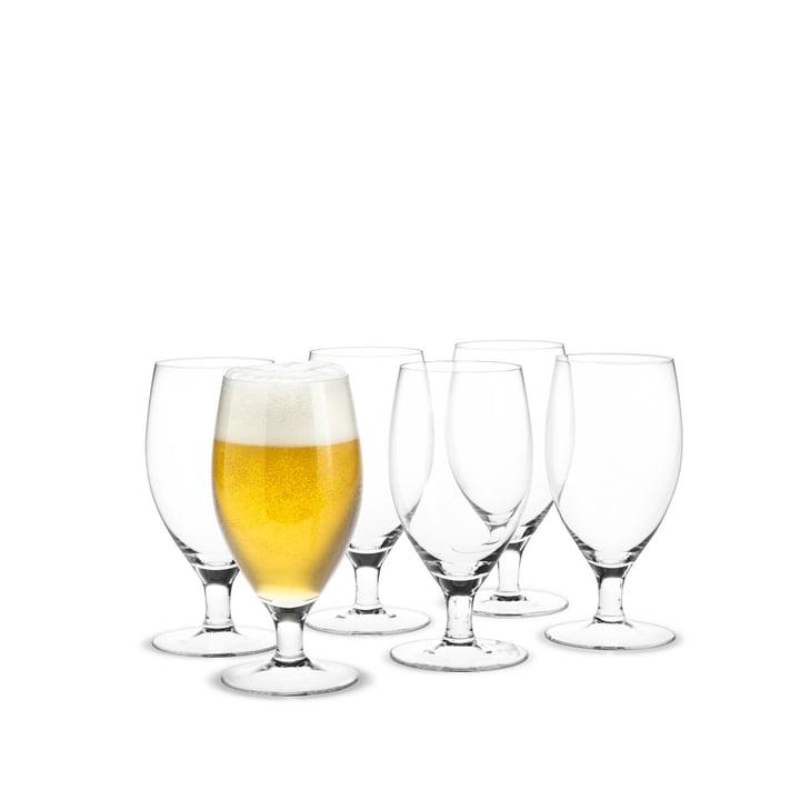 Royal beer glass, 48 cl (set of 6) by Holmegaard