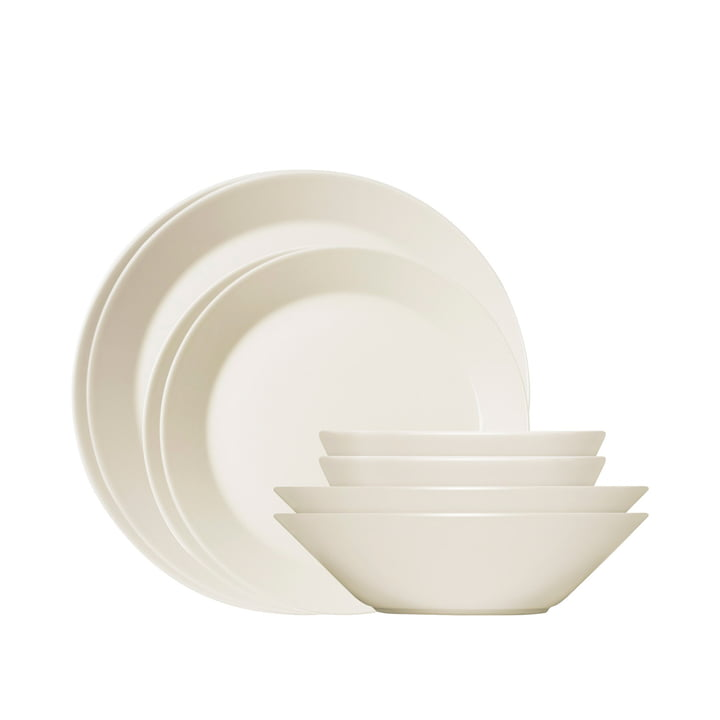 Iittala - Teema Starter set, white, 8 pieces