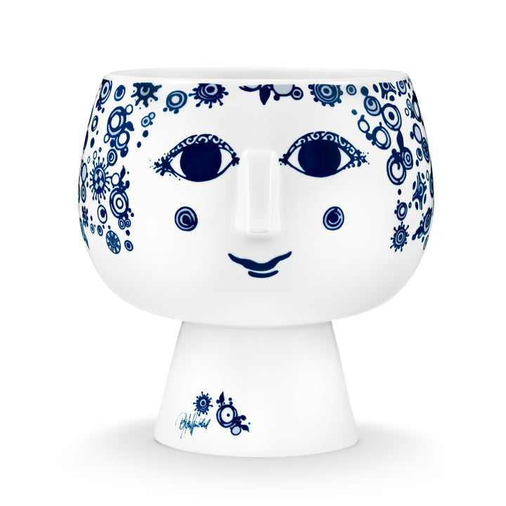 Bjørn Wiinblad - Pot plant holder with base Juliane, Ø 19 cm, blue