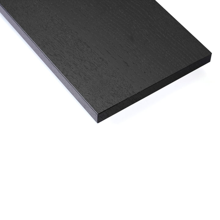 Shelf board (pack of 3) by String in stained black ash