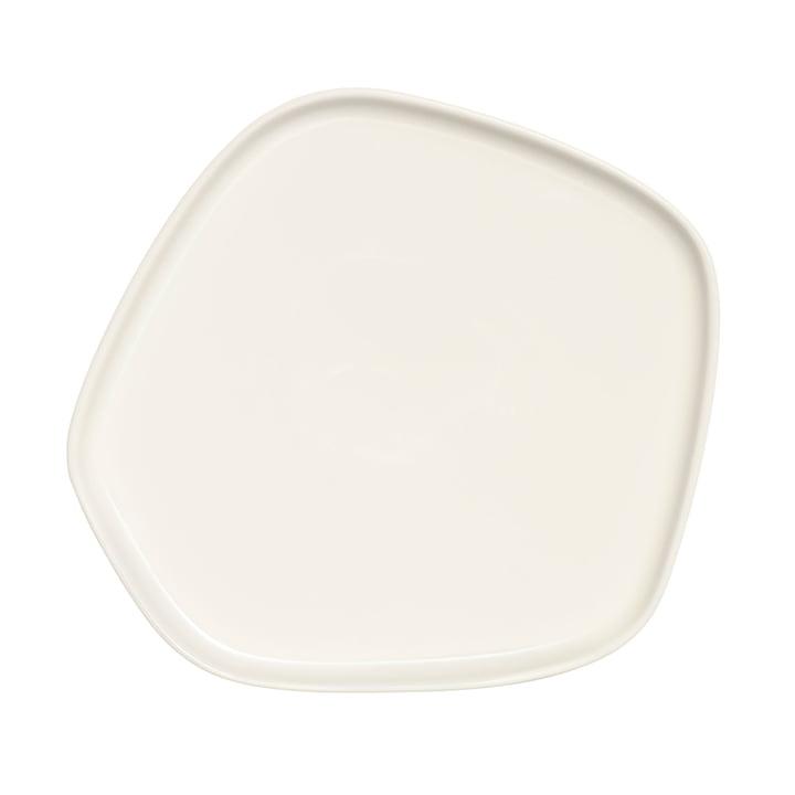 Iittala X Issey Miyake - Plate 21x20 cm, white