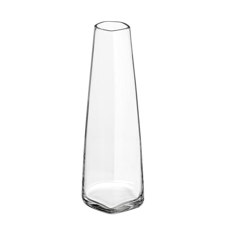 Iittala X Issey Miyake - glass vase 180 mm, clear