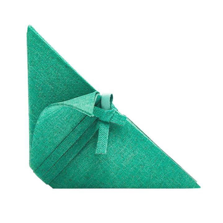 Iittala X Issey Miyake - napkin 53 x 40 cm, emereld green