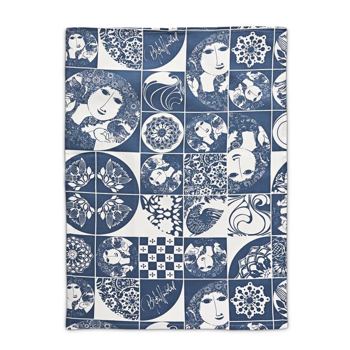 Bjørn Wiinblad - tea towel, blue