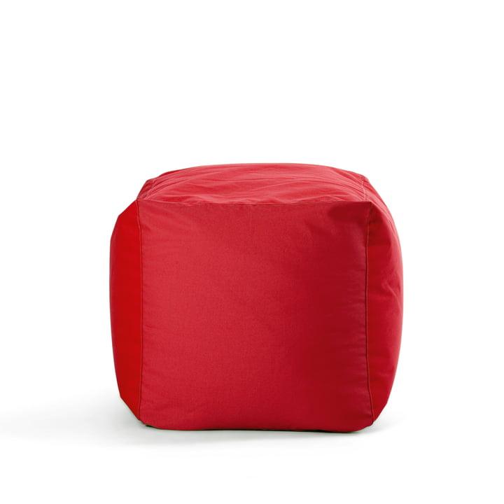 Sitting Bull - Cube, red