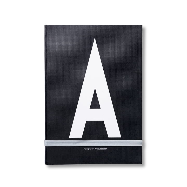 Design Letters - Personal Notebook A-Z, A
