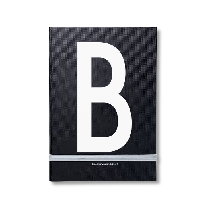 Design Letters - Personal Notebook A-Z, B