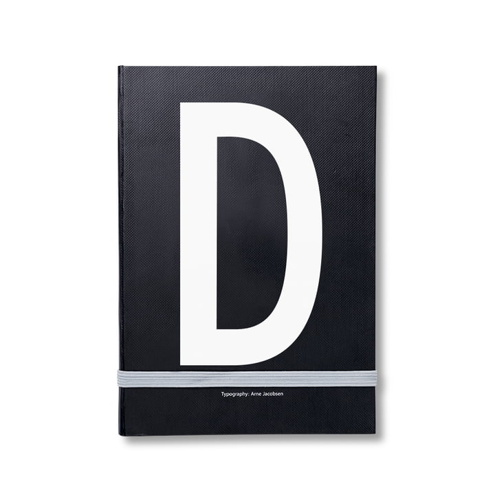 Design Letters - Personal Notebook A-Z, D