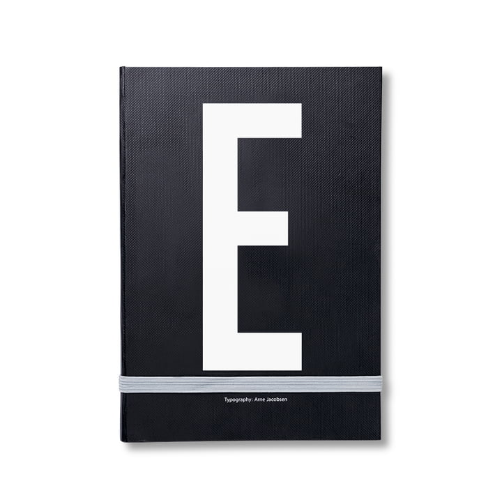 Design Letters - Personal Notebook A-Z, E