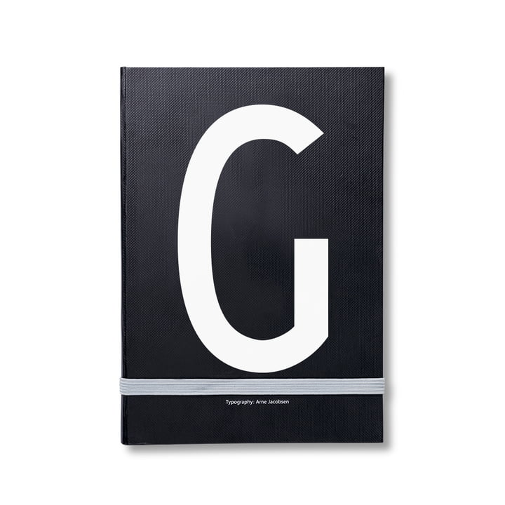 Design Letters - Personal Notebook A-Z, G