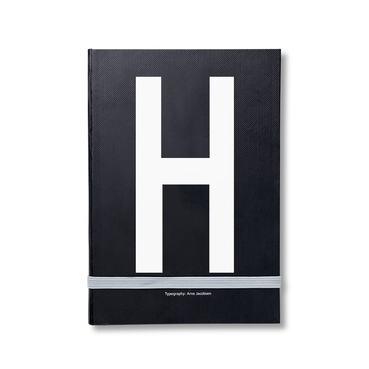 Design Letters - Personal Notebook A-Z, H