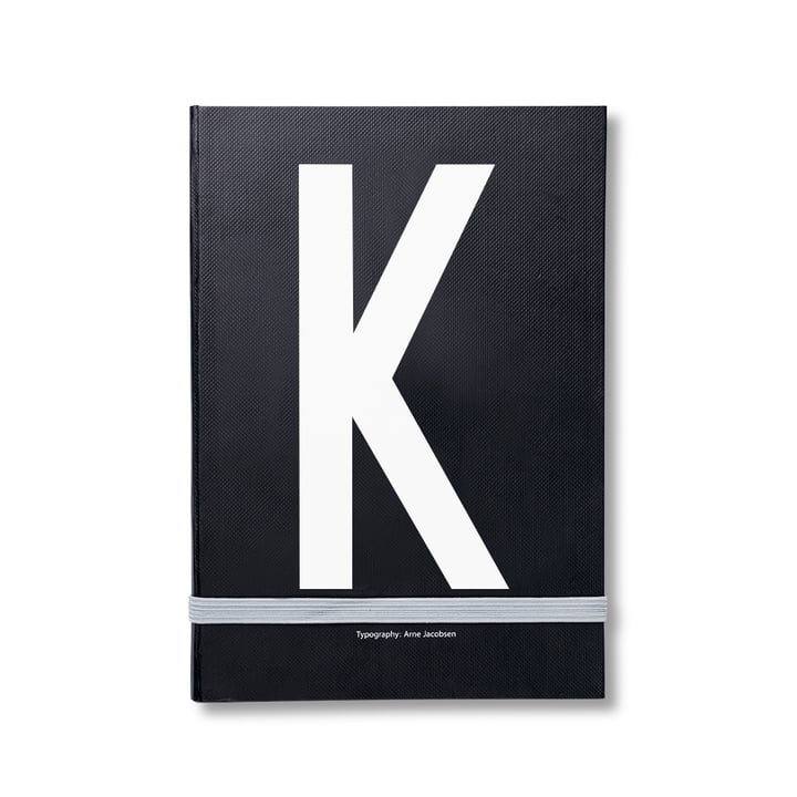 Design Letters - Personal Notebook A-Z, K