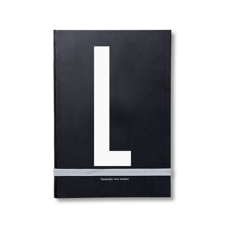 Design Letters - Personal Notebook A-Z, L