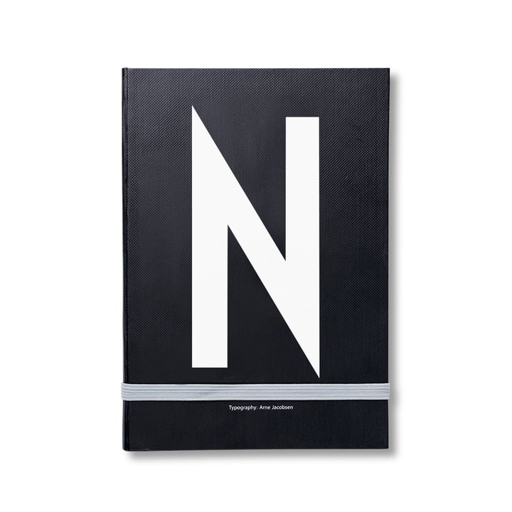 Design Letters - Personal Notebook A-Z, N