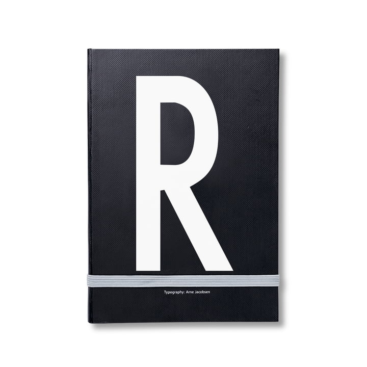 Design Letters - Personal Notebook A-Z, R