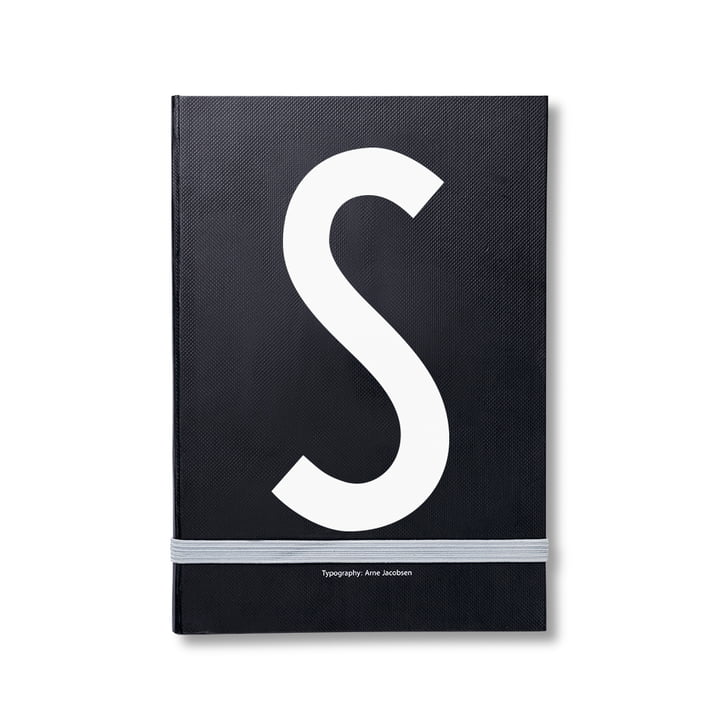 Design Letters - Personal Notebook A-Z, S