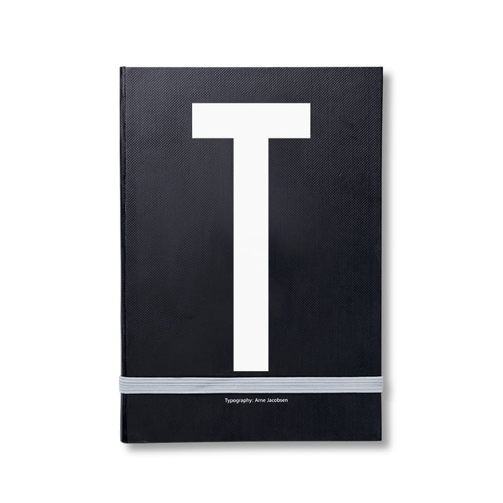 Design Letters - Personal Notebook A-Z, T